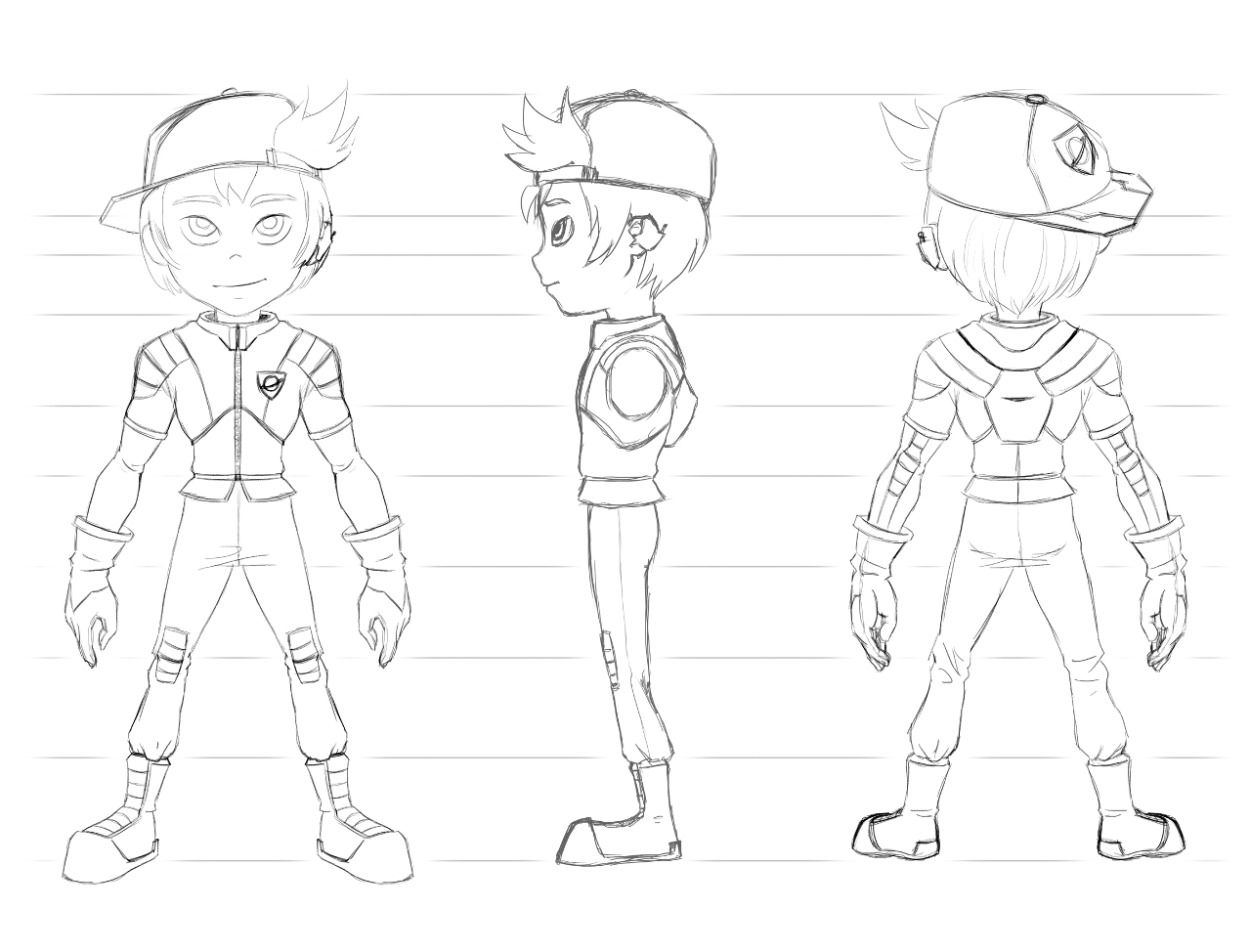 Blender Character Modeling 10 Of 10 : Blender character drawing