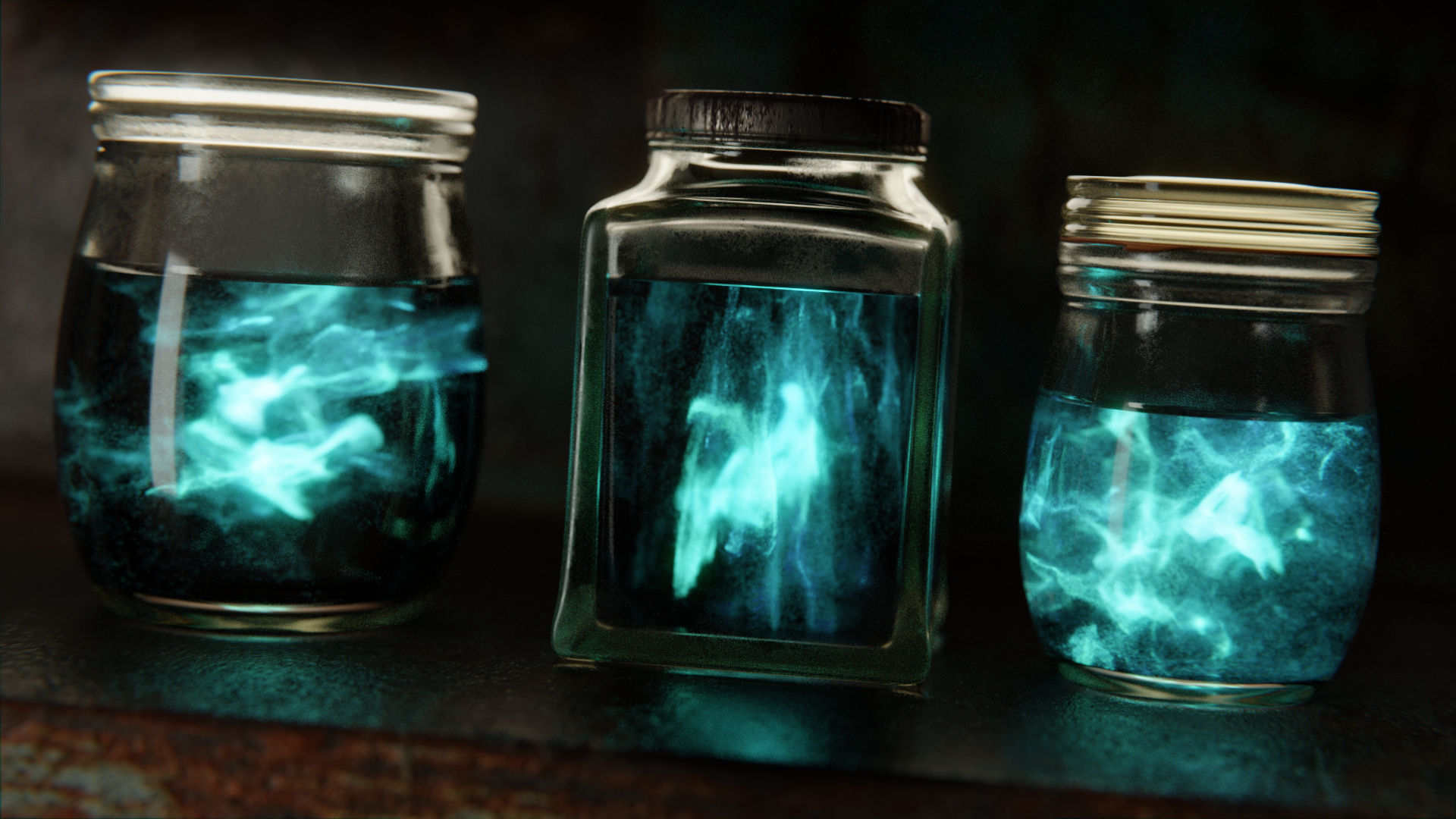 Basic Magical Effect: Ghosts in Jars