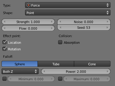 Blender force field tutorial