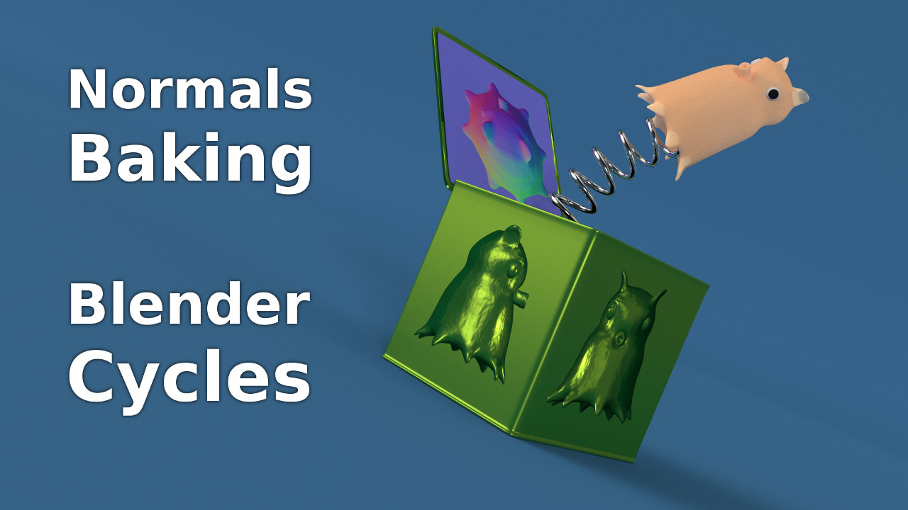 Blender Cycles Normals Baking