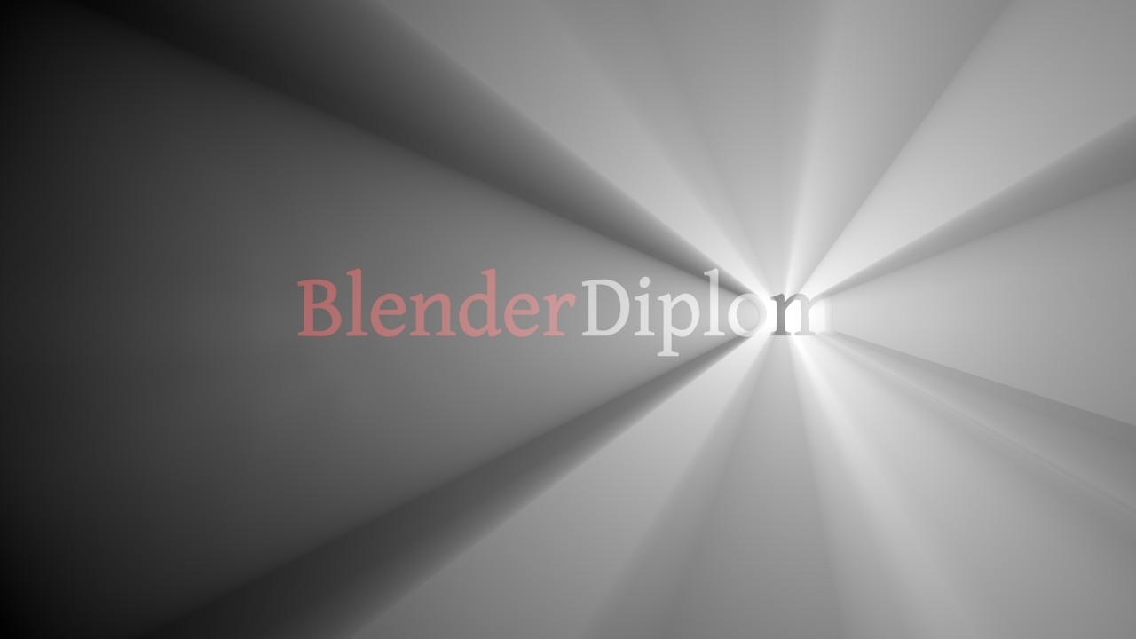 blender logo backlit