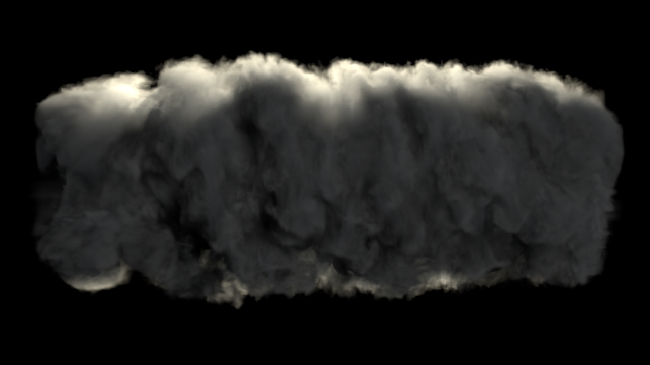 blender drum of smoke