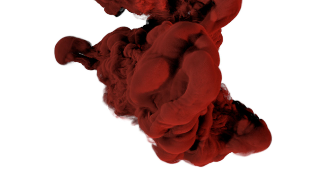 blender cycles ink drop
