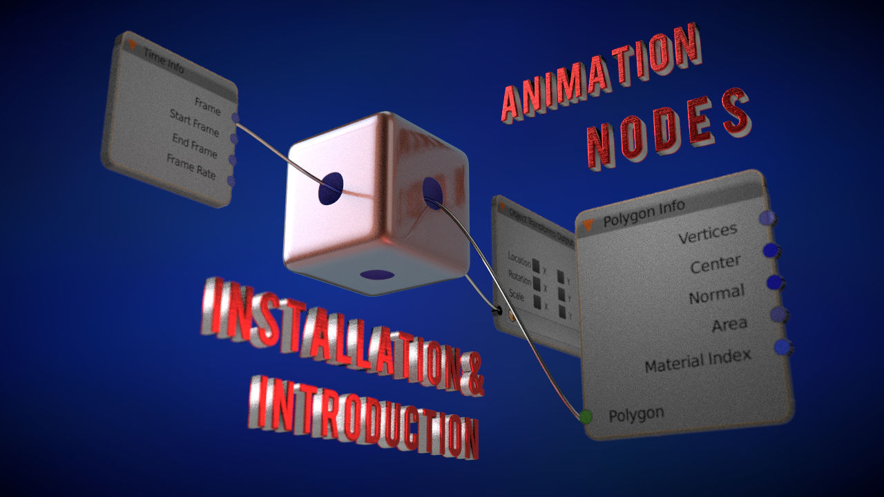 blender animation nodes installation guide